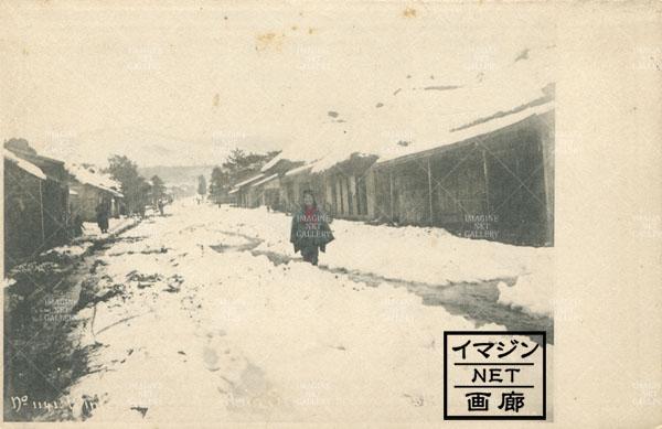 横浜雪景色