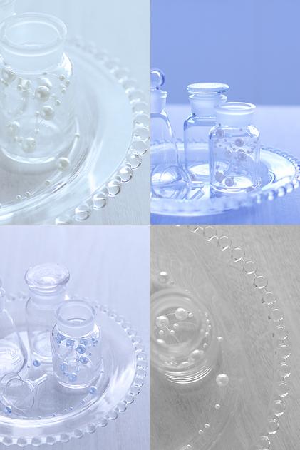ガラスの瓶たち
