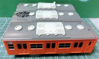 103系 中央線(新金型) 屋根
