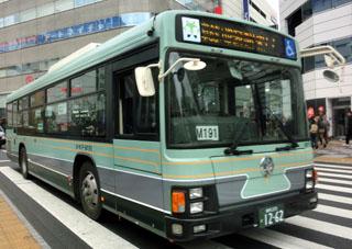 都バス旧塗装ラッピング車両 巣鴨営業所P-M191