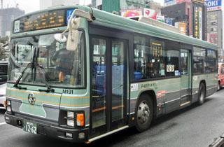 都バス旧塗装ラッピング車両 巣鴨営業所P-M191 ②