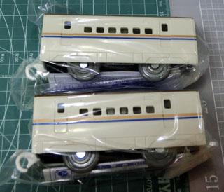 入場記念品「E7系北陸新幹線かがやき中間車」