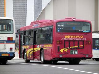 京成トランジットバス イオンモールバスロータリーにて