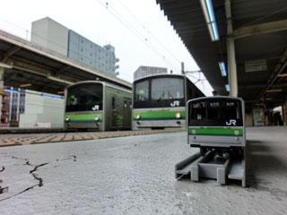 横浜線205系 コラボ写真