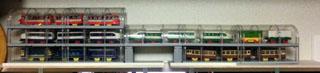 クリアドーム型 プラレール展示ケース