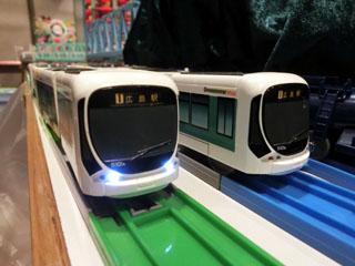 shin-chaさんの5車体「広島電鉄5100形 グリーンムーバMAX」