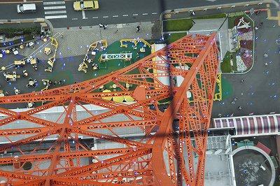 東京タワーのあんよ