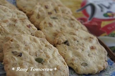 フルーツグラノーラでクッキー