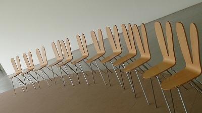 うさぎのような椅子