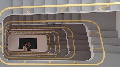 不思議な階段