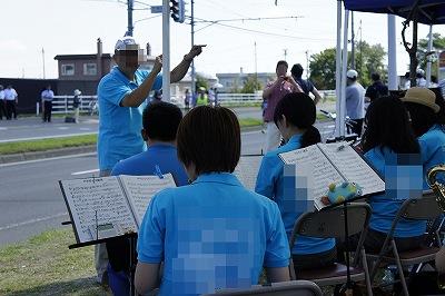 北海道マラソン2014吹奏楽部