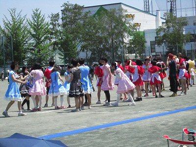 高校生の運動会ー