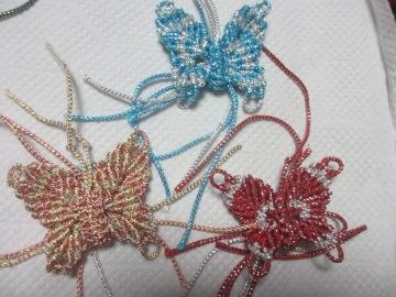 蝶々を作るので♪4