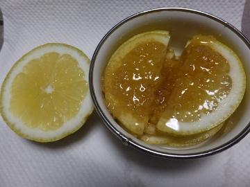 レモンを切った4