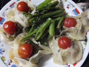 ミニトマト餃子3