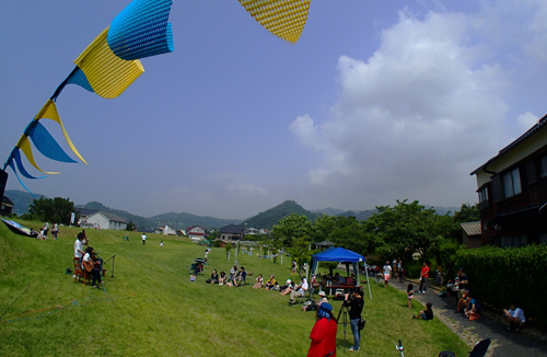 お台場公園イワトビ祭り