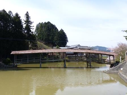 弓削神社 太鼓橋 1