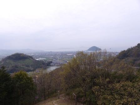腰折山からの眺め