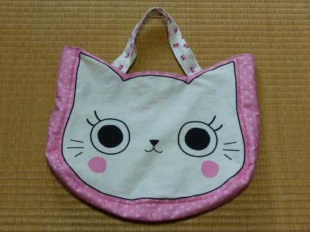 猫顔バッグ 1