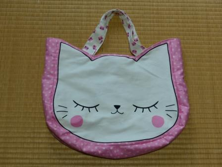猫顔バッグ 2