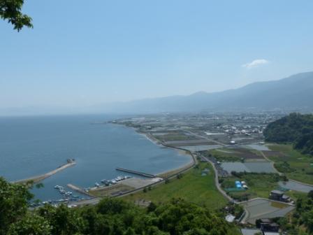 四国中央市土居町天満 からの眺め