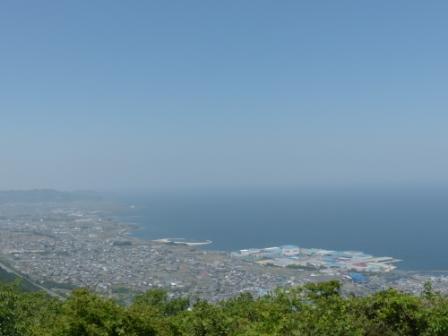 四国中央市 具定展望台 からの眺め 1