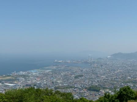 四国中央市 具定展望台 からの眺め 2