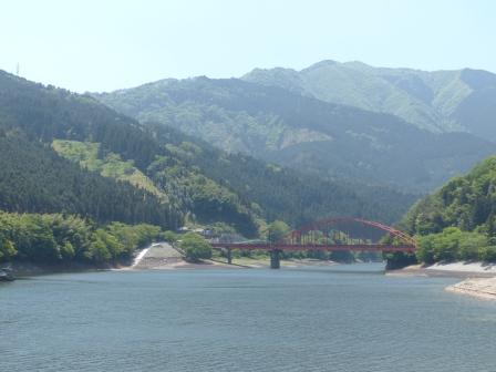 四国中央市 金砂湖
