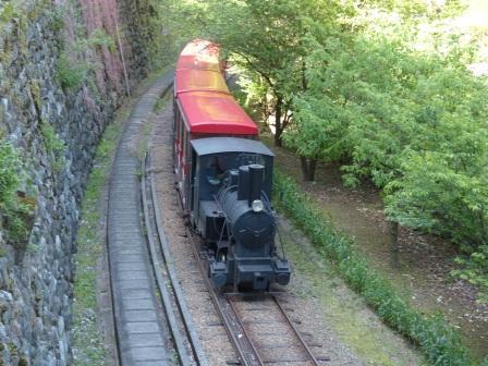 マイントピア別子 観光鉄道