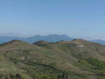 大川嶺~笠取山 からの眺望 2