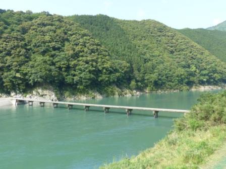岩間沈下橋 1