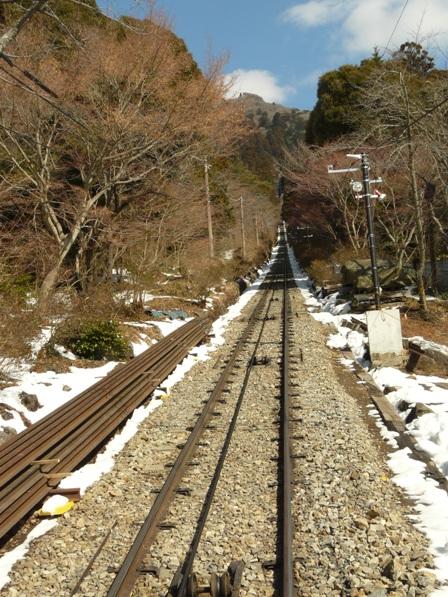筑波山ケーブルカーからの眺め 1