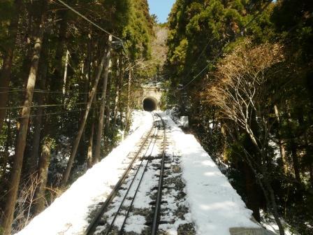 筑波山ケーブルカーからの眺め 3