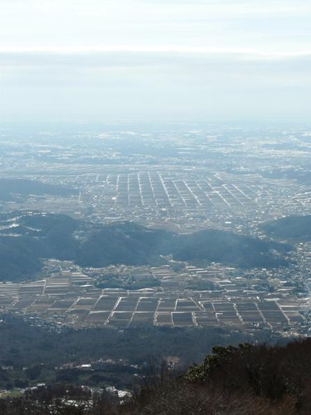 筑波山 展望台からの眺め 4