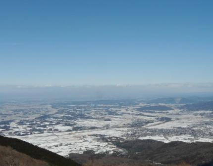 筑波山 展望台からの眺め 2