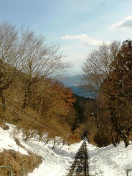 筑波山ケーブルカーからの眺め 5