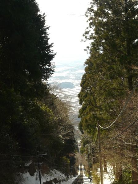 筑波山ケーブルカーからの眺め 9