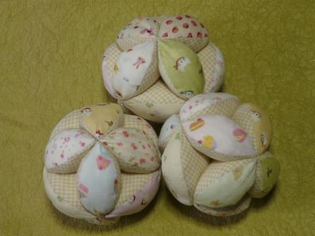赤ちゃん用ボール 2