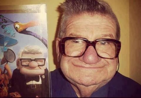 カールじいさんにそっくりな人が発見されました