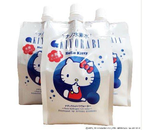 ハローキティの水素水が発売開始!?