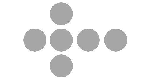 <なぞなぞ>コインを1枚だけ動かして縦からも横からも4枚並ぶようにしてください