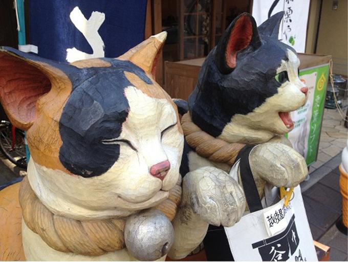 「七福神」ならぬ「七福猫」参りが人気上昇中!(東京・谷中銀座商店街)