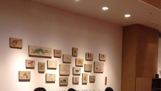 妖怪アーティスト石黒亜矢子の「化け猫と幻獣」展が開催(新宿)