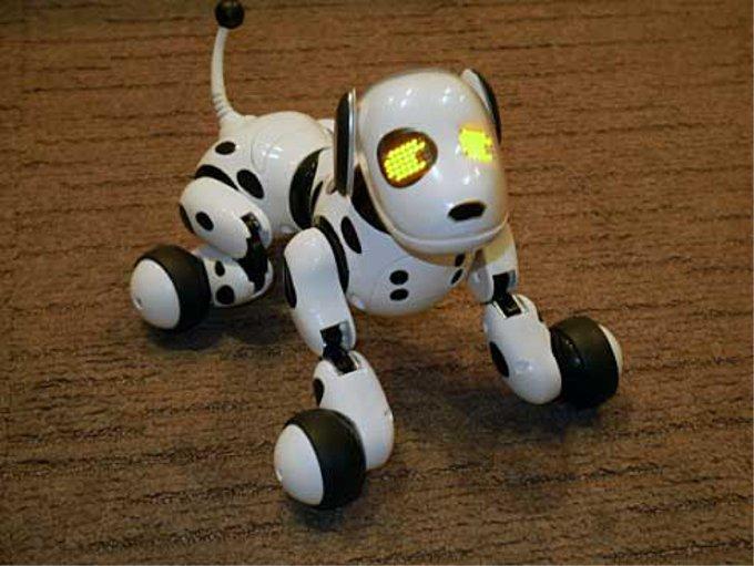 「日本おもちゃ大賞2014」を受賞した犬型ロボット