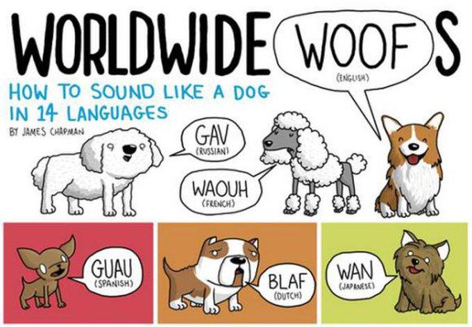 日本で犬の鳴き声は「ワンワン」、海外では?