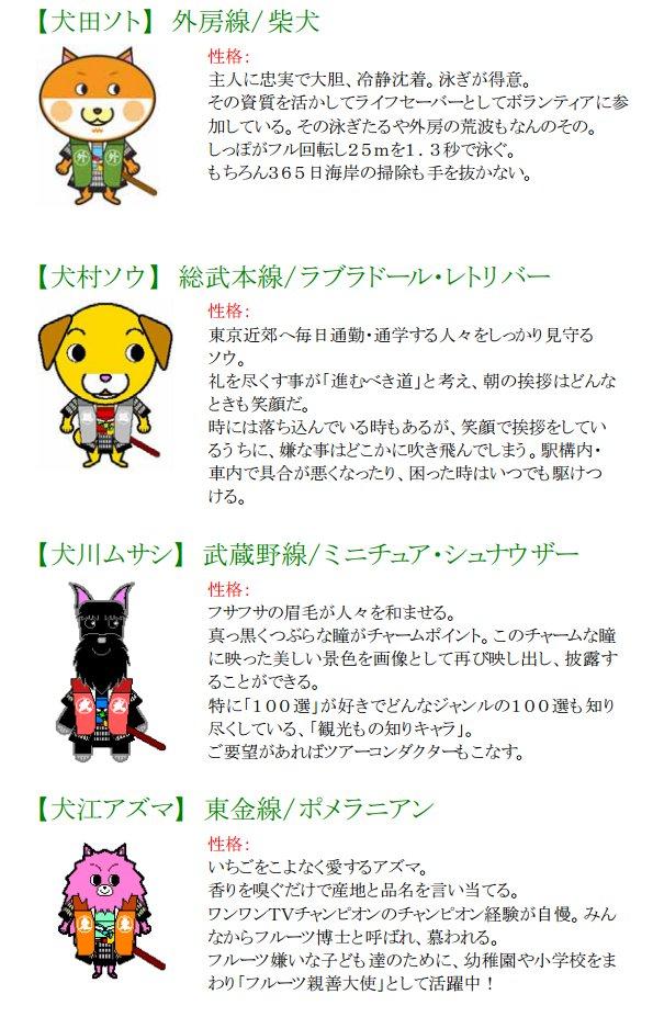 ロッカーに不思議な犬キャラクター発見(千葉)