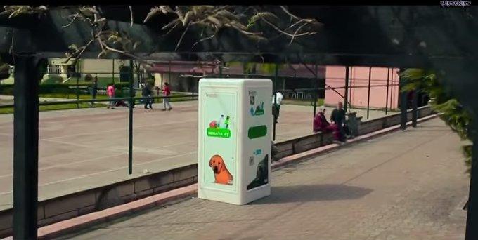 リサイクルボックスで捨てられた動物たちを救う(トルコ)
