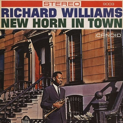 Richard Williams New Horn In Town Candid CJS 9003