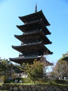 備中国分寺五重塔