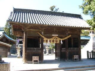 吉備津彦神社随身門